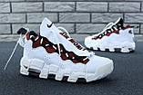 Кроссовки Nike Air Money белые кожаные, фото 6