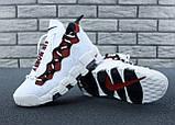 Кроссовки Nike Air Money белые кожаные, фото 8