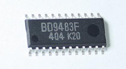 Микросхема  BD9483F  SOP-24 в ленте, фото 2