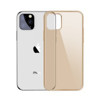 Чехол Baseus Simplicity Series Transparent Gold для iPhone 11 Pro Max