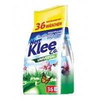 Бесфосфатный стиральный порошок KLEE, универсальный, 3 кг, 36 стирок
