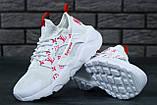 Кроссовки Nike Huarache White Supreme Louis Vuitton, фото 4