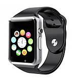 Умные часы Uwatch А1 Smart Watch GT08 Смарт часы телефон Фитнес-браслеты, фото 2