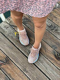 Женские кроссовки Nike M2K Tekno Pink (Найк М2К Текно кожаные розовые), фото 6