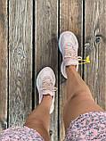 Женские кроссовки Nike M2K Tekno Pink (Найк М2К Текно кожаные розовые), фото 10