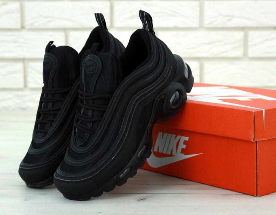 Мужские черные кроссовки Nike Air Max 97 Plus