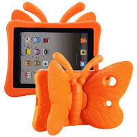 "Детский чехол oneLounge Cartoon Butterfly Orange для Apple iPad 7 10.2"" | Air 3 10.5"" | Pro 10.5"", фото 2"
