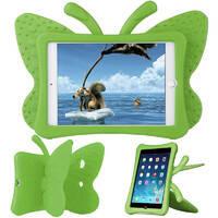 Детский противоударный чехол oneLounge Cartoon Butterfly Green для iPad mini 1   2   3   4   5, фото 2