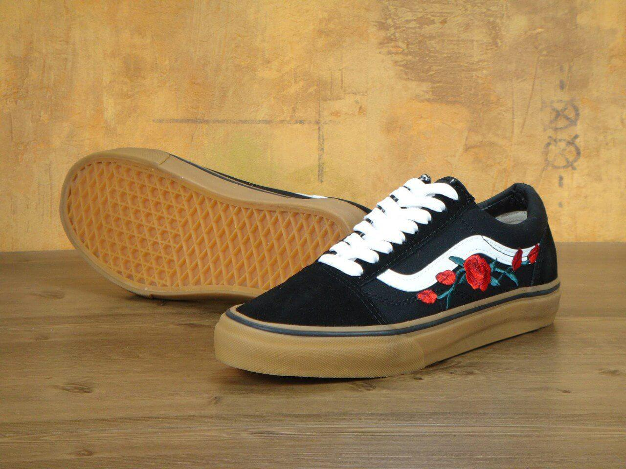 Кеды Vans Old School Black Rose Gum