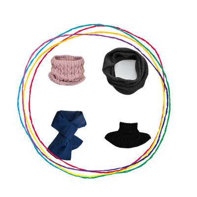Баффы, шарфы, манишки, снуды для детей и взрослых