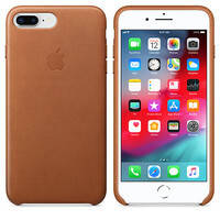Кожаный чехол oneLounge Leather Case Saddle Brown для iPhone 7 Plus | 8 Plus OEM, фото 2