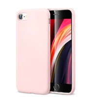Розовый силиконовый чехол ESR Yippee Color Pink для iPhone 7 | 8 | SE 2 (2020)