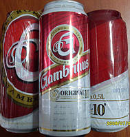 Пиво Gambrinus original 4.3 % 0.5 l ж\б