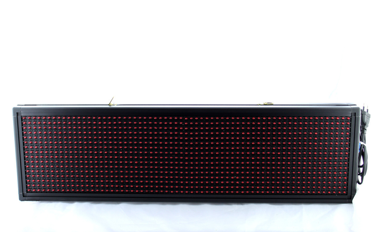 Бегущая строка уличная 103*23 Red, Бегущая строка с красными диодами 100*20 R, Вывеска LED sale