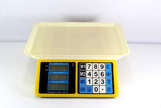 Весы ACS 40kg/5g MS 266 4V
