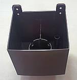 Водосточная воронка ф80 Коричневая 8017 для отвода воды с плоской кровли с парапетом, фото 7