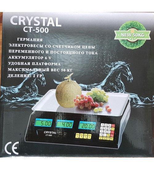 Весы CRYSTAL CT-500 sale