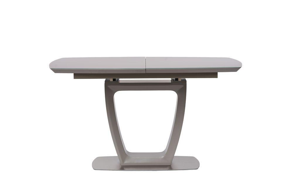 Раскладной стол RAVENNA (Равенна) матовый серый 120/160 от Concepto