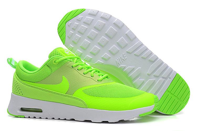 Кроссовки Nike Air Max Thea Lime в лимонном цвете