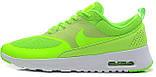 Кроссовки Nike Air Max Thea Lime в лимонном цвете, фото 2