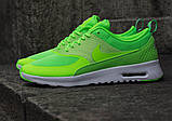 Кроссовки Nike Air Max Thea Lime в лимонном цвете, фото 6