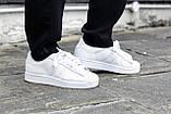 Женские кроссовки Adidas Superstar All White Gold белого цвета, фото 6