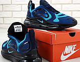 Мужские кроссовки Nike Air Max 720 Navy Blue (Найк Аир Макс) темно-синие, фото 4