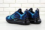 Мужские кроссовки Nike Air Max 720 Navy Blue (Найк Аир Макс) темно-синие, фото 5