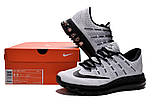 Кроссовки Nike Air Max 2016 Flyknit Black and White Mens, фото 6
