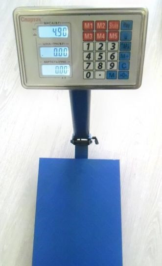 Весы ACS 100KG 30*40 Fold sale