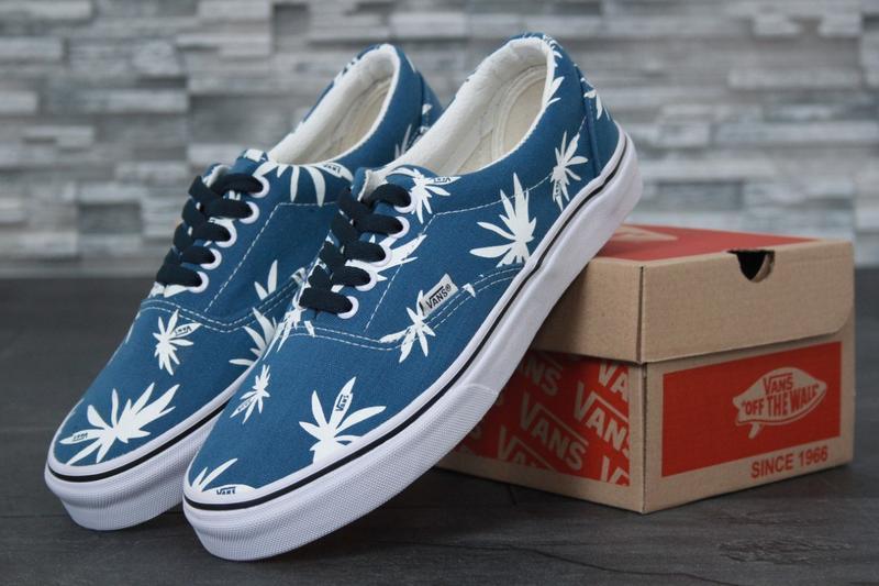 Кеды Vans Blue Palm
