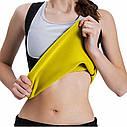 Топик для фитнеса sweat shaper, separater/ топик для похудения sale, фото 2