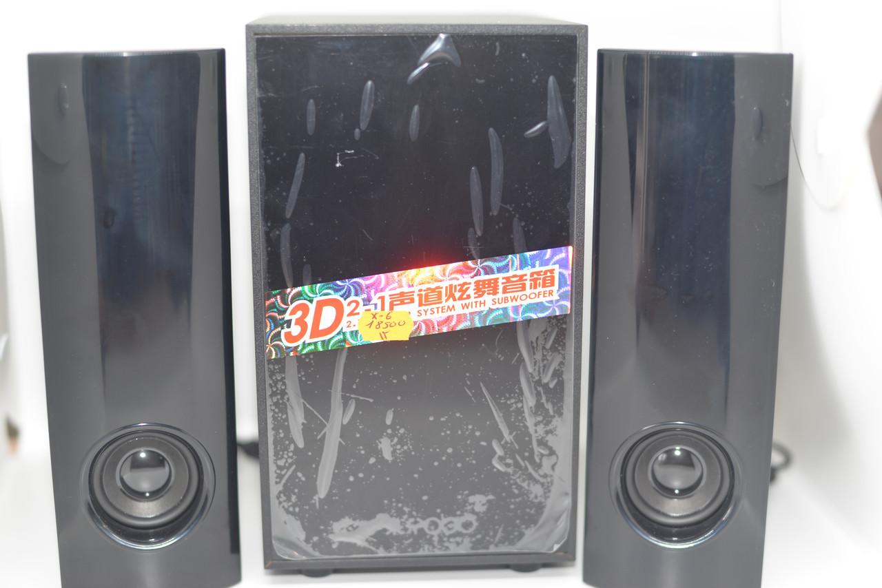 Колонки для PC 2.1 USB X6 sale