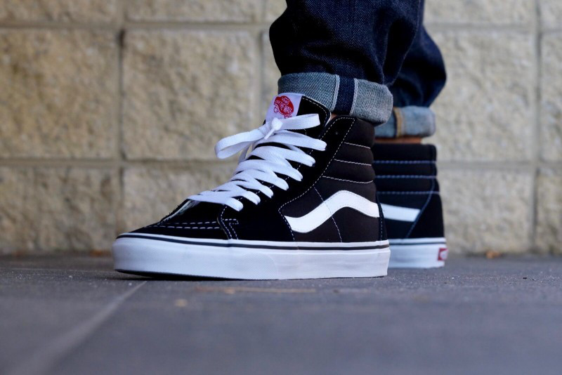 Кеды Vans Old Skool SK8 Black White