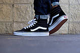 Кеды Vans Old Skool SK8 Black White, фото 2