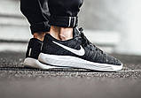 Кроссовки Nike Lunarepic Low Flyknit Black Anthracite, фото 6