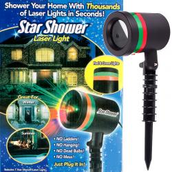 Лазерный проектор Laser Light (красный+зеленый)(м\в) sale