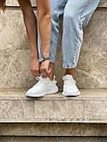 Белые кроссовки Adidas Yeezy Boost 350 White (Адидас Изи Буст) мужские и женские 36-45, фото 2