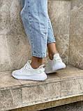 Белые кроссовки Adidas Yeezy Boost 350 White (Адидас Изи Буст) мужские и женские 36-45, фото 3