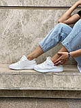 Белые кроссовки Adidas Yeezy Boost 350 White (Адидас Изи Буст) мужские и женские 36-45, фото 4