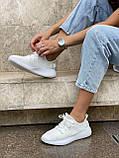 Белые кроссовки Adidas Yeezy Boost 350 White (Адидас Изи Буст) мужские и женские 36-45, фото 5