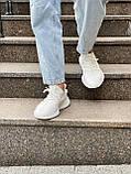 Белые кроссовки Adidas Yeezy Boost 350 White (Адидас Изи Буст) мужские и женские 36-45, фото 6