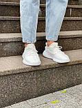 Белые кроссовки Adidas Yeezy Boost 350 White (Адидас Изи Буст) мужские и женские 36-45, фото 7