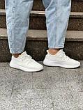 Белые кроссовки Adidas Yeezy Boost 350 White (Адидас Изи Буст) мужские и женские 36-45, фото 9