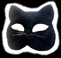 Маска кошки черная