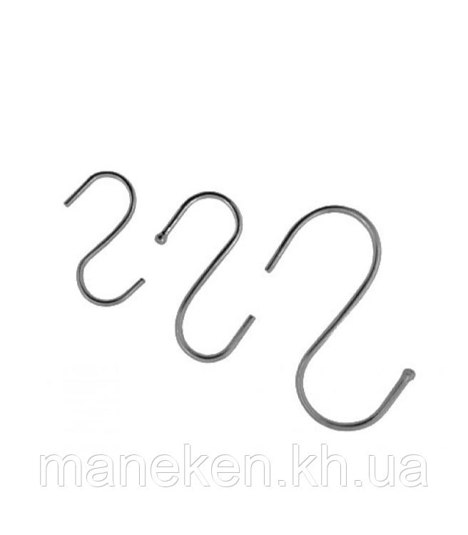 """Крючок S-образный TREMVERY """"Средний"""" оцинкованный 2,8 мм (2-й сорт)"""