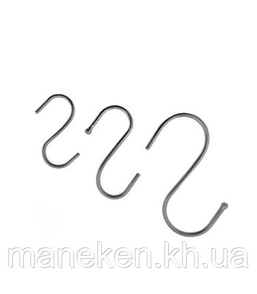 """Крючок S-образный TREMVERY """"Средний"""" оцинкованный 2,8 мм (2-й сорт), фото 2"""