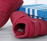 Женские высокие кроссовки Adidas Tubular Invader Strap Red, фото 9