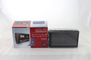 """Автомагнитола 2Din MP5 7024 Экран 7""""  Съемная панель USB SD MMC Bluetooth  AUX  GPS sale"""