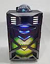 Автономная акустическая система с микрофоном WilliCo ZS-55 IP, с диско-шаром 300W sale, фото 4